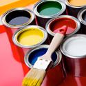 several paint colors