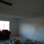A Room In The Process Of House Painter San Diego